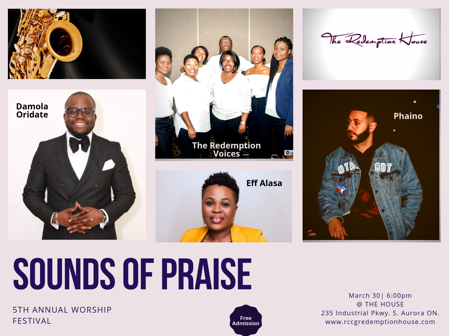 Sounds of Praise 2019